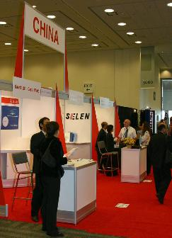 China+pavilion+at+SEMICON+West+2006+on+the+third+level+of+the+West+Hall