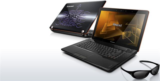 Lenovo IdeaPad Y560D 3D notebook