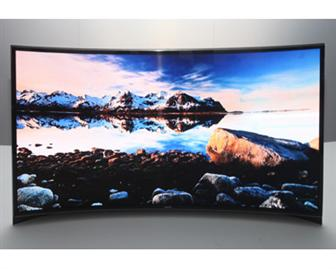 CES+2013%3A+Samsung+curved+OLED+TV