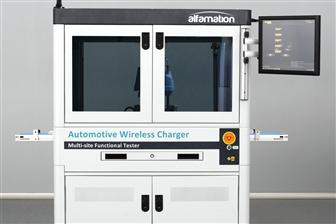 Alfamation+tester+for+automotive+wireless+chargers+