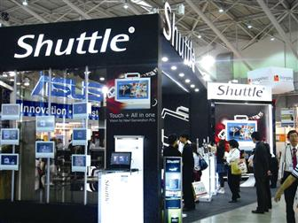 Shuttle+booth+at+Computex+2009