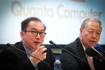 Quanta+Computer+chairman+Barry+Lam+%28left%29+and+vice+chairman+CC+Leung