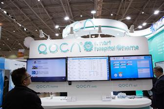 Quanta+showcasing+QOCA+brand+medical+products