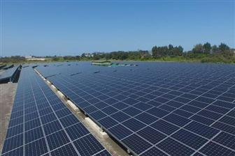 A PV power station on a restored landfill site in Taoyuan