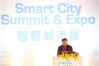 Taipei+Mayor+Ko+Wen%2Dje+speaks+at+Smart+City+Summit+%26+Expo+2019