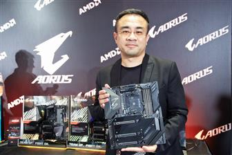 Eddie+Lin%2C+executive+VP+for+Gigabyte%27s+Aorus+Brand+Marketing