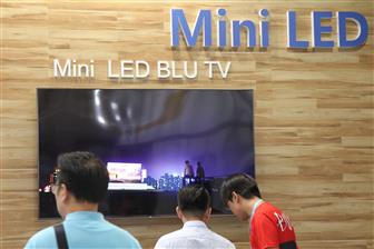 Demand for OLED display and mini LED-backlit applications rising