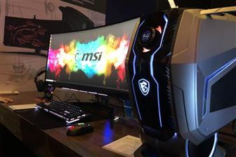 MSI MEG Aegis Ti5 gaming desktop