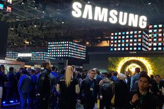 Samsung showcasing its products at CES 2020