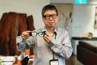 Tom Liang, chairman of AR smart glasses maker Jorjin Technologies