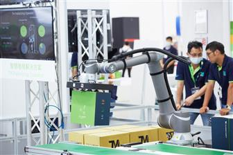 A collaborative robot developed by Techman Robot